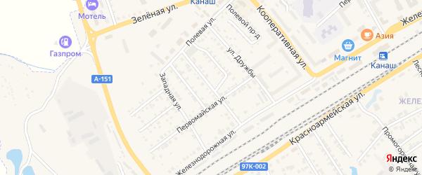 Автовокзальная улица на карте Канаша с номерами домов