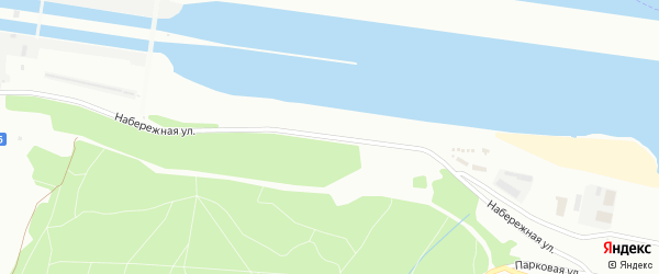 Набережная улица на карте Новочебоксарска с номерами домов