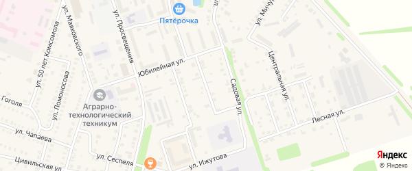 Улица Хирурга А.Павлова на карте Цивильска с номерами домов