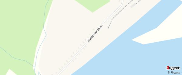 Набережная улица на карте поселка Харитоново с номерами домов