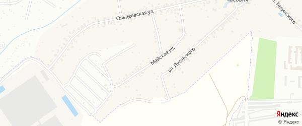 Майская улица на карте Новочебоксарска с номерами домов