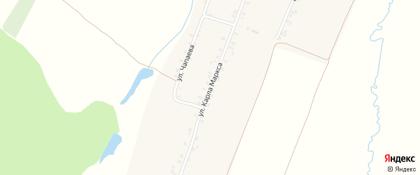 Улица Карла Маркса на карте деревни Сядорги-Сирмы с номерами домов