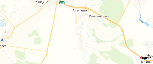 Карта Чиричкасинское сельского поселения республики Чувашия с районами, улицами и номерами домов