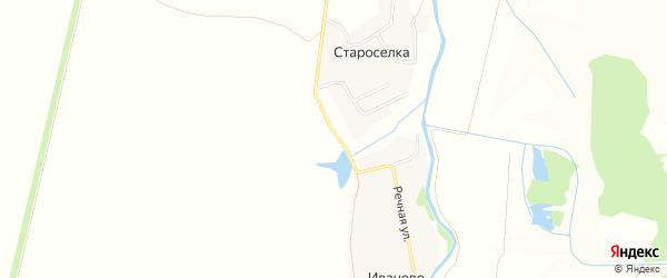 СТ Цивиль на карте Рындинского сельского поселения с номерами домов