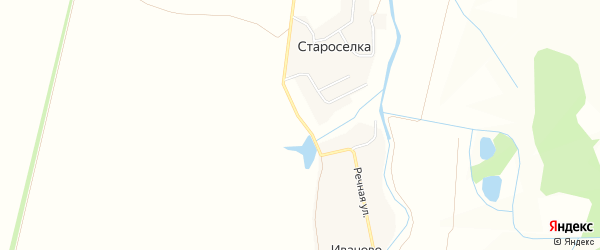 СТ Изобилие на карте Богатыревского сельского поселения с номерами домов