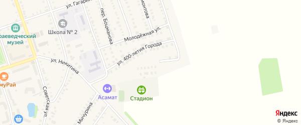 Березовая улица на карте Цивильска с номерами домов
