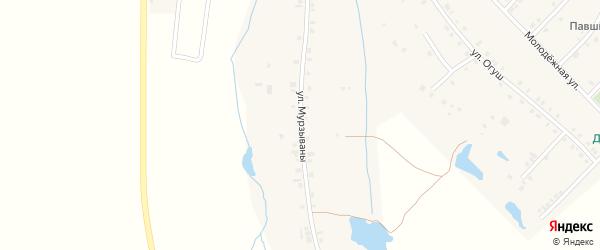 Улица Мурзываны на карте деревни Сугайкас с номерами домов