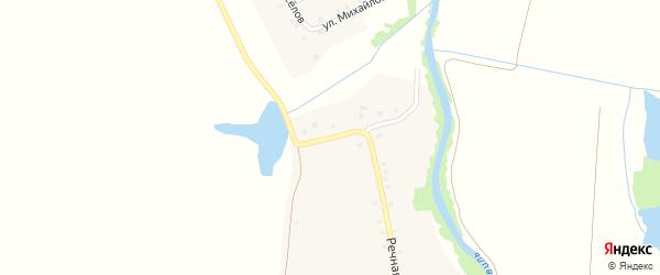 Озерная улица на карте села Иваново с номерами домов