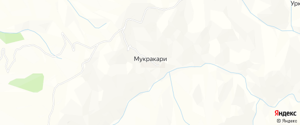 Карта села Муркараха в Дагестане с улицами и номерами домов