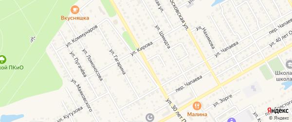 Улица 30 лет Победы на карте Канаша с номерами домов
