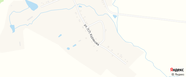 Улица Л.П.Куракова на карте деревни Чувашские Ишаки с номерами домов