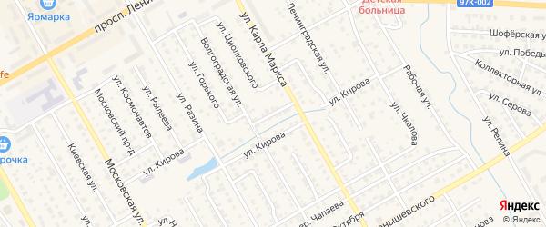 Улица М.Джалиля на карте Канаша с номерами домов