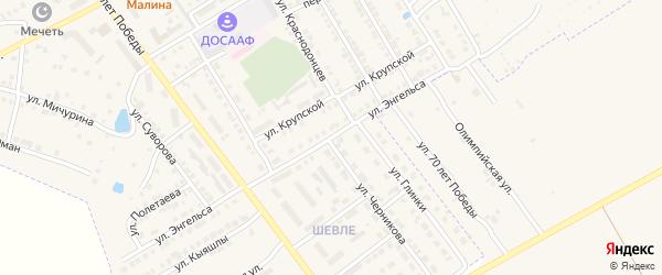 Улица Ф.Энгельса на карте Канаша с номерами домов