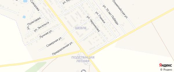 Улица Бухтулова на карте Канаша с номерами домов