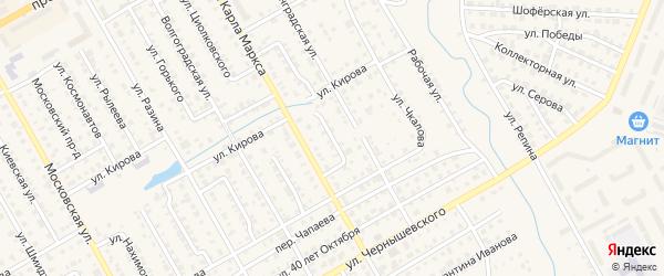 Улица Зарубина на карте Канаша с номерами домов