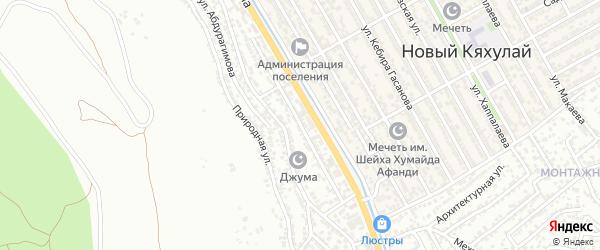 Нижняя улица на карте поселка Тарки с номерами домов