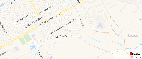 Улица Фурманова на карте Канаша с номерами домов
