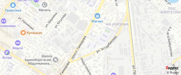 Переулок Чернышевского на карте Махачкалы с номерами домов