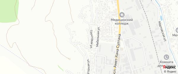 Верхняя улица на карте поселка Тарки с номерами домов