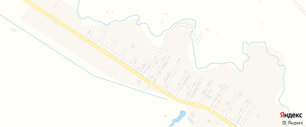 Улица Бийболат Бийболатова на карте села Карабудахкента с номерами домов