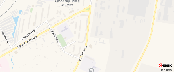 Улица Ильича на карте Канаша с номерами домов
