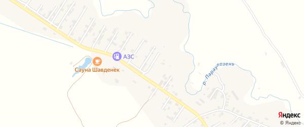 Абонентский ящик Шахманая Шахманаева на карте микрорайона Мычыгышавул с номерами домов