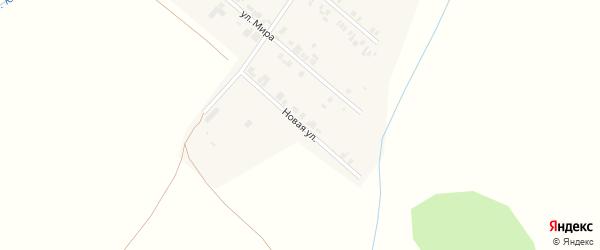 Новая улица на карте села Шыгырдана с номерами домов