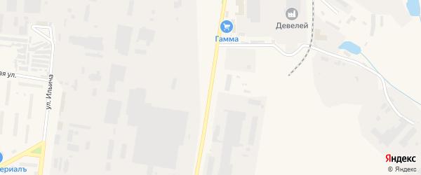 Территория Элеватор на карте Канаша с номерами домов