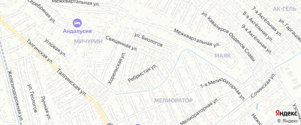 А.Алиева 5-й проезд на карте Махачкалы с номерами домов