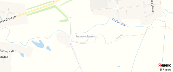 Автомобилист (Атлашевского с/п) на карте Атлашевского сельского поселения с номерами домов