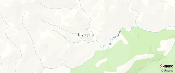 Карта села Шулерчи в Дагестане с улицами и номерами домов