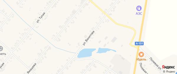 Улица Вахитова на карте села Шыгырдана с номерами домов