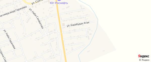 Улица Абдулкасума Пайзуллаева на карте микрорайона Къонгураул с номерами домов