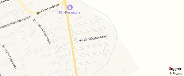 Карабудах Атая улица на карте села Карабудахкента с номерами домов