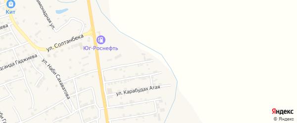 Улица Абдулгамида Яхьяева на карте микрорайона Къонгураул с номерами домов