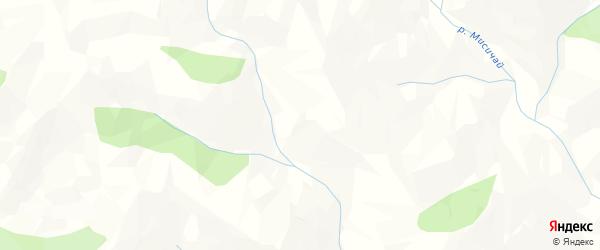 Карта села Цирхе в Дагестане с улицами и номерами домов