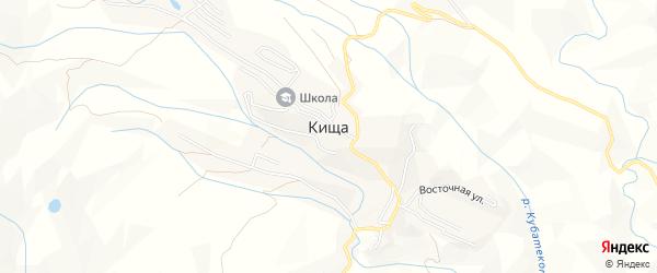 Карта села Кищи в Дагестане с улицами и номерами домов