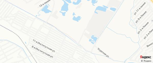 Педагог СНТ на карте Каспийска с номерами домов