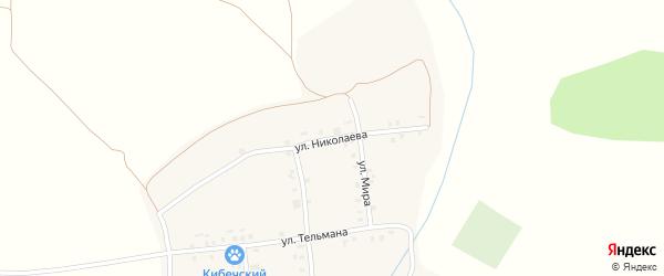 Улица Николаева на карте деревни Челкумаги с номерами домов