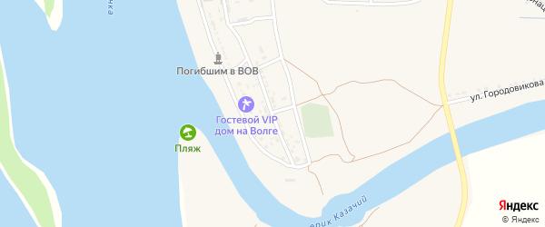 Улица Гагарина на карте Заволжского села с номерами домов