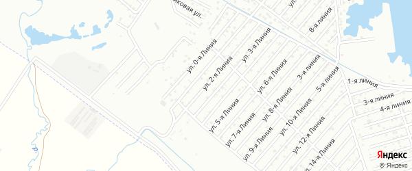 2-я линия на карте Дагестана СНТ с номерами домов