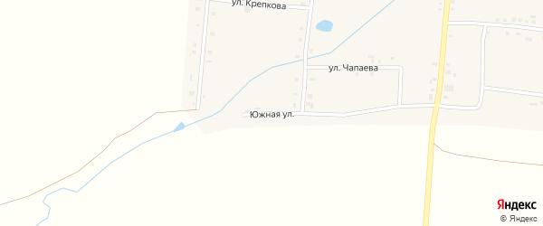 Южная улица на карте села Сугуты с номерами домов