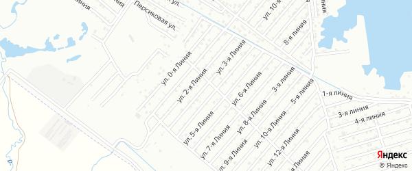 3-я линия на карте Дагестана СНТ с номерами домов