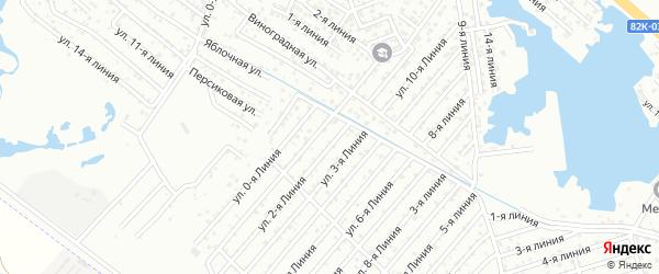 Улица Линия 5 на карте аала Район озера Турали с номерами домов
