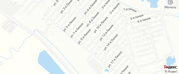 10-я линия на карте Дагестана СНТ с номерами домов