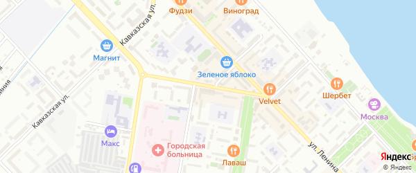 Улица Ильяшенко на карте Каспийска с номерами домов