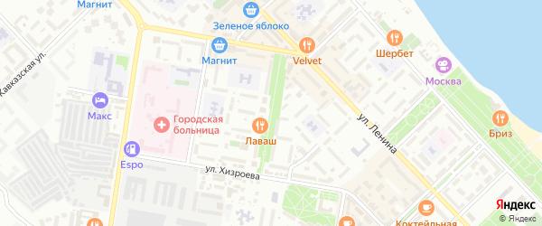 Улица Бульвар Абдуллаева на карте Каспийска с номерами домов