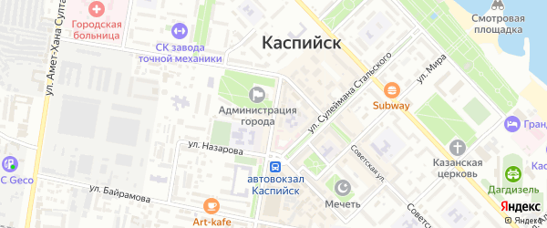 Улица Орджоникидзе Г.К. на карте Юбилейного микрорайона с номерами домов