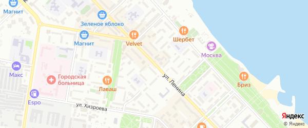 Улица Ленина на карте Каспийска с номерами домов