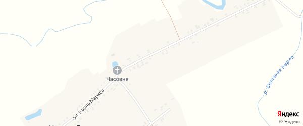 Улица Терешковой на карте деревни Чепкас-Ильметево с номерами домов